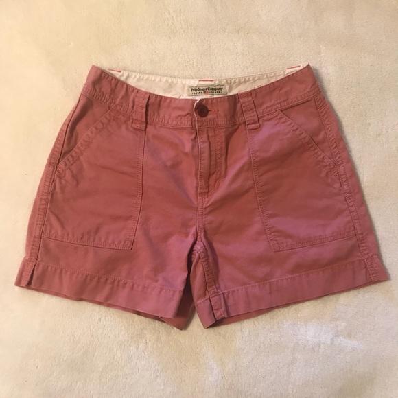 Polo by Ralph Lauren Pants - Polo Jean Co. Ralph Lauren Salmon Pink shorts 4